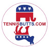 Democrat or Republican Tennis Butt
