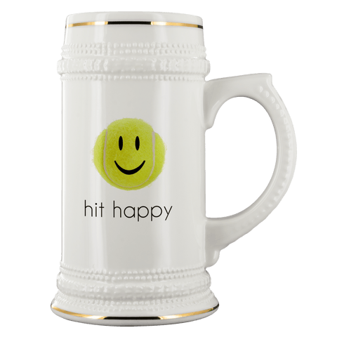 Hit Happy Beer Stein