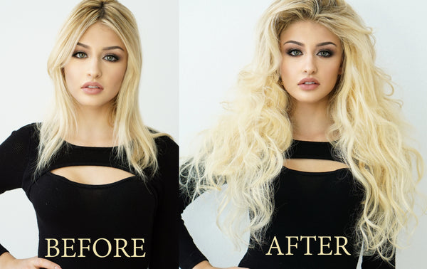 How to put hair extensions in short hair? secrets here! – Elstile ...