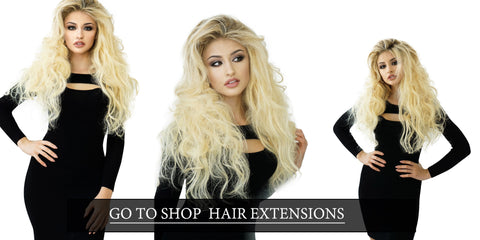 How To Put Hair Extensions In Short