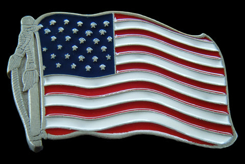 Flag Belt Buckles