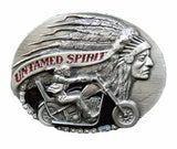 Motorcycle Biker Untamed Spirit Bikers Belt Buckle Buckles