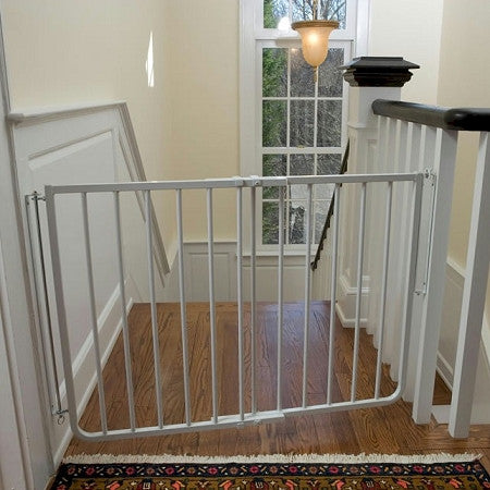 Stairway Special Pet Gate - Black or White