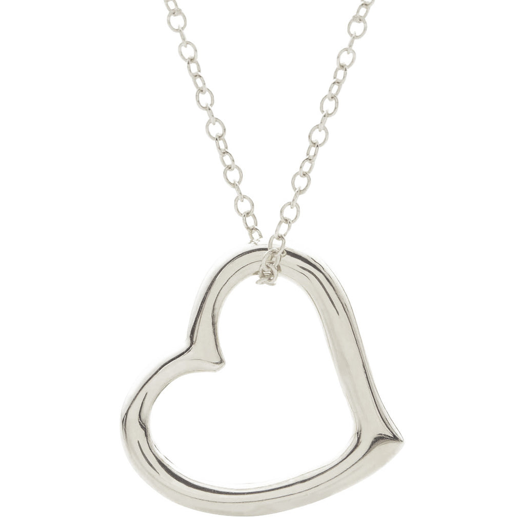 heart silver diamonds kay mv jewellery sterling ct kaystore en tw necklace zm infinity