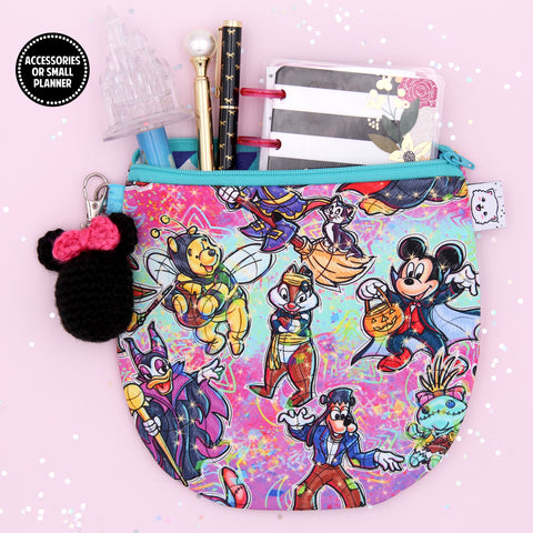 Boo To You Pencil Pouch - Pen Pouch - Washi Pouch - Micro Planner Pouch - No Coupons Please