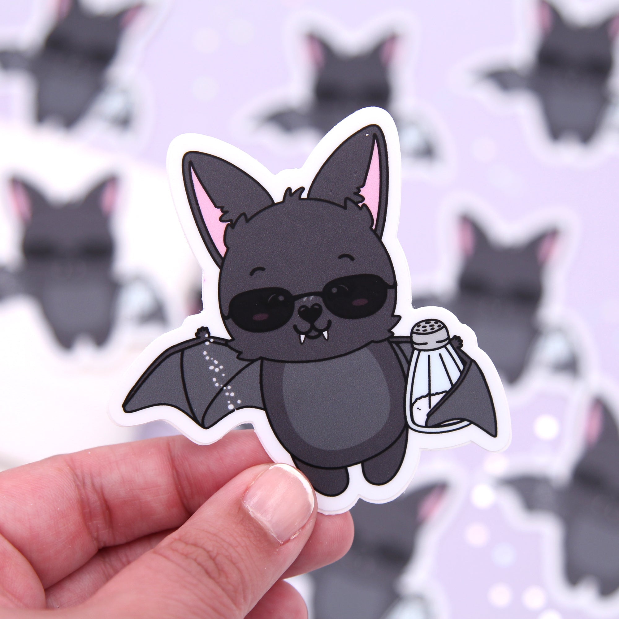 Monty Salty AF - Bat Vinyl Die Cut Sticker