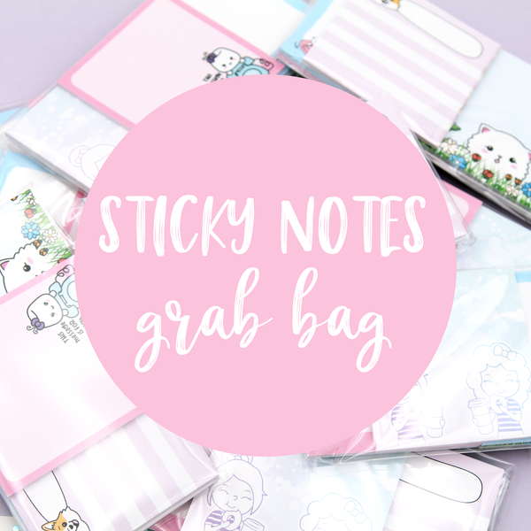 Sticky Notepad Mystery Pack
