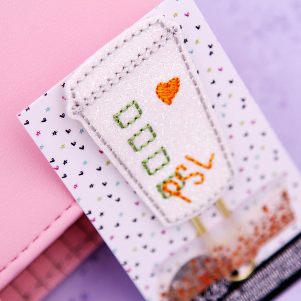 PSL Planner Clip - Halloween Bookmark - Fall Clip