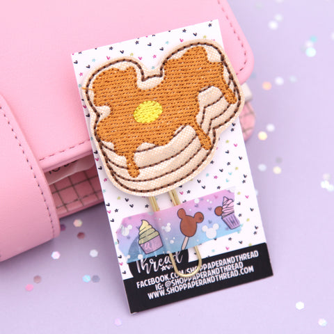 Mouse Shaped Food - Pancakes Planner Clip
