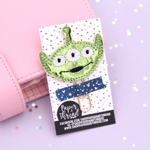 Toy Story Alien Planner Clip