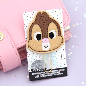 Cute Chip Chipmunk Planner Clip