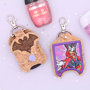 Sketchy Bat Mouse - Donald Jafar Hand Sanitizer Case - Sanitizer NOT Included