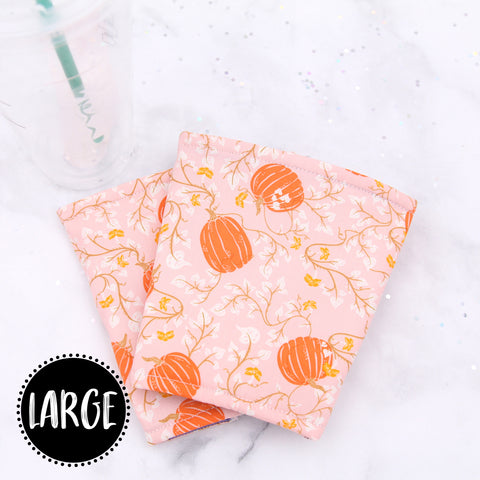 LARGE - Pumpkin Patch Insulated Coffee Sleeve