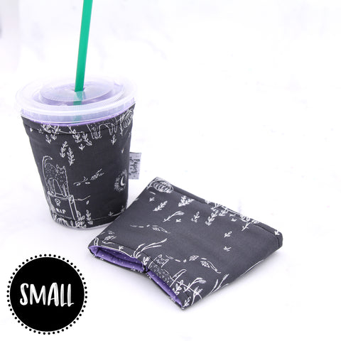 SMALL - Cats in the Graveyard Insulated Coffee Sleeve