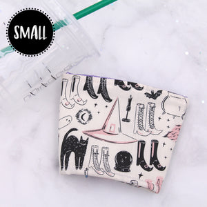 SMALL - Witchy Icons Insulated Coffee Sleeve