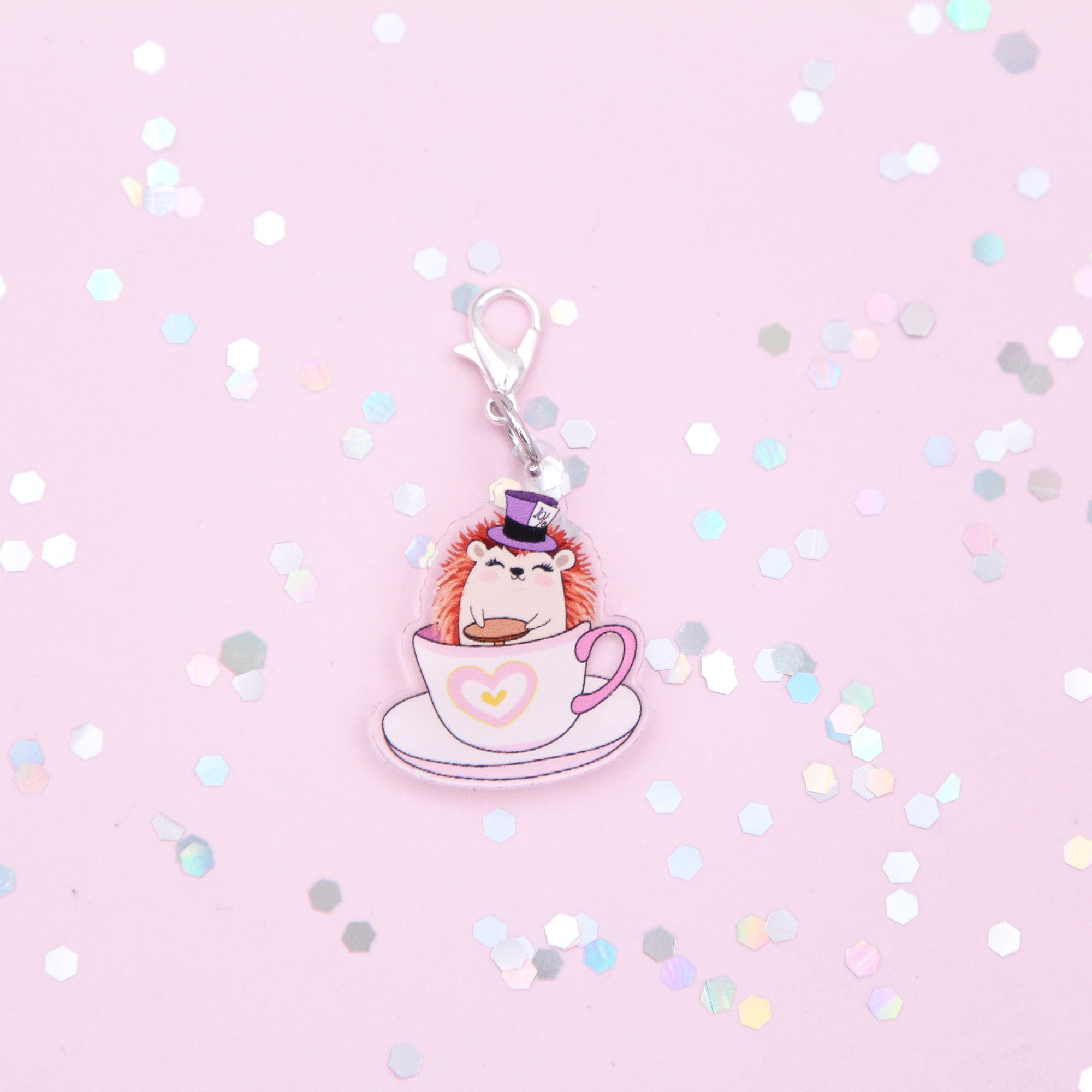 Quill Teacup Ride - Acrylic Charm