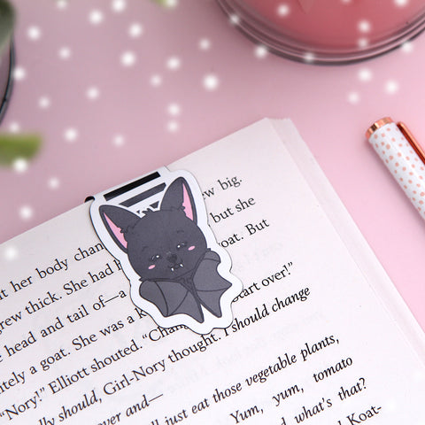 Monty the Bat Magnetic Bookmark
