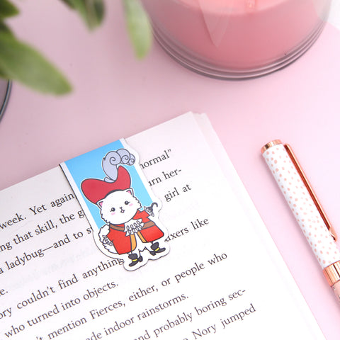 Captain Snowball Pirate Magnetic Bookmark