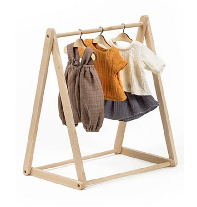 Minikane - Clothes Rack for Dolls in Wood