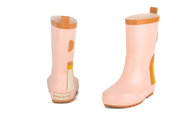 Children's Rubber Boots - Rainbow - Shell