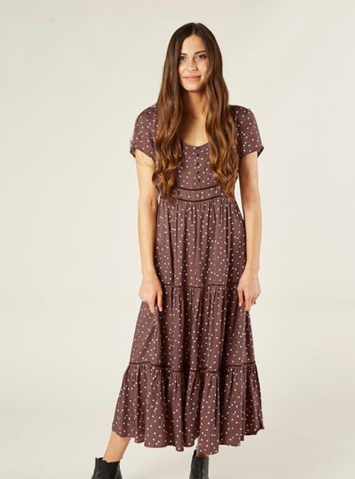 Ada Dress - Wine