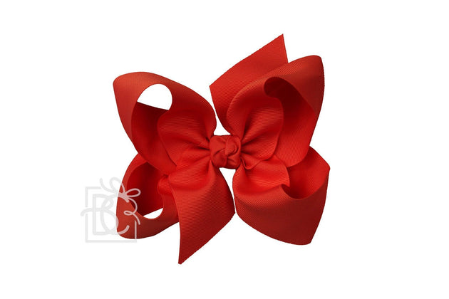 Large Bow - Red w/clip