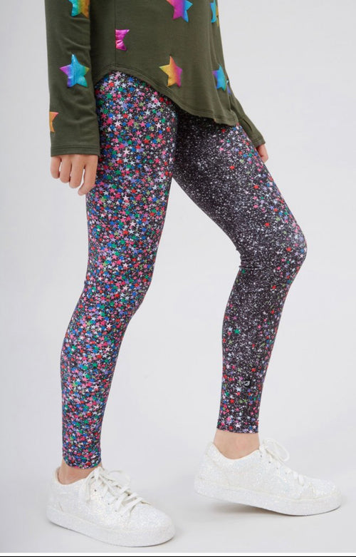 Girls Glitter Dream Leggings - RaineHills