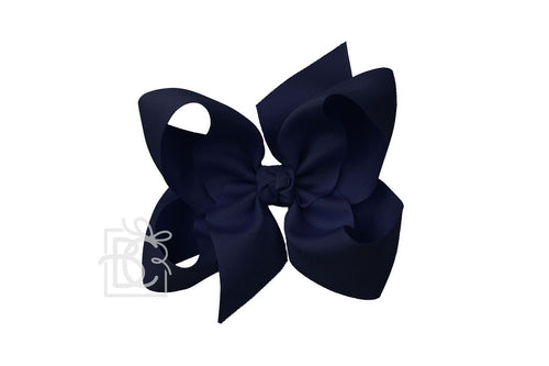 Large Bow - Dark Navy
