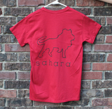 Classic Sahara Red Short Sleeve