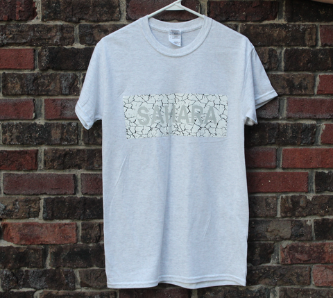 Cracked Sahara Gray Short Sleeve