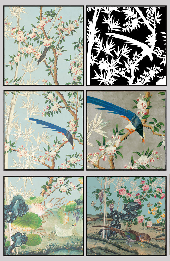 Custom Hamlen Chinoiserie Pillows Ideas