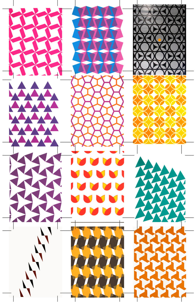 Holly Alderman Artist Structure Design Science Pattern Prints 2