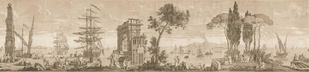 Cay DUfour Views of Italy and the Bay of Naples, Seaver & McLellan