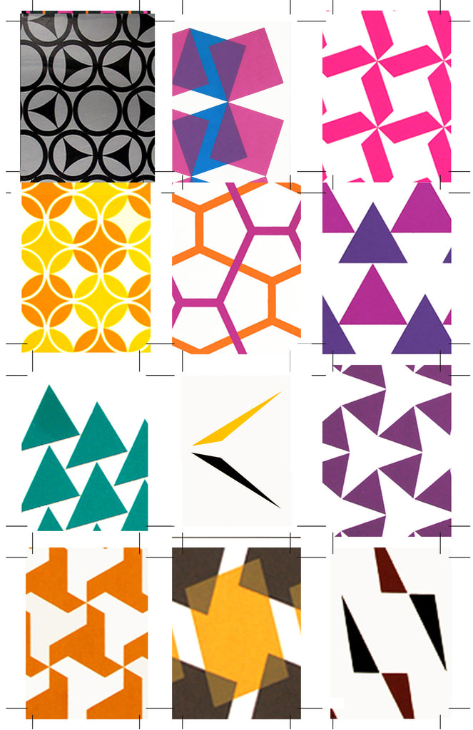 Holly Alderman Artist Structure Design Science Pattern Prints