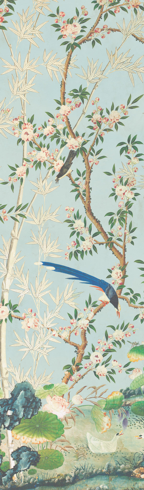 Holly Alderman WALLGAZE Wallpaper Chinoizerie Gardens the Hamlen Collection