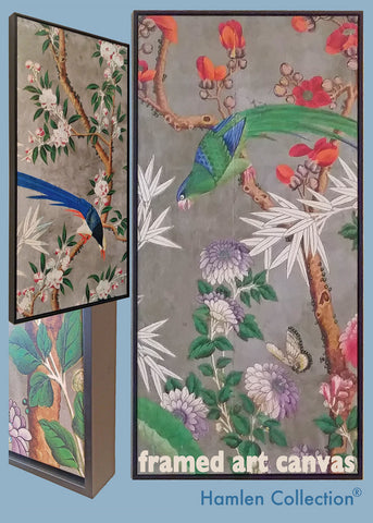 Holly_Alderman_Hamlen_Collection_Chinoiserie_Framed_Wallpaper_Canvas
