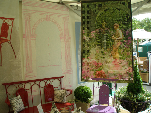 Holly Alderman WALLGAZE Saint-Gaudens Garden Banners Chelsea Flower Show 8a