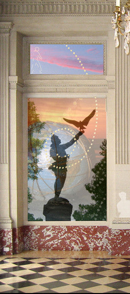 Holly Alderman art Central Park Falconer Cyber Heroes of New York National Academy Mural Fellowship