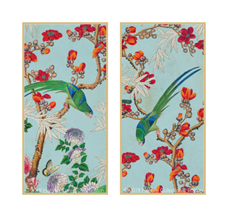 Chinoiserie Framed Art Panels 1.2