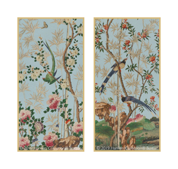 Chinoiserie Framed Art Panels 2.2