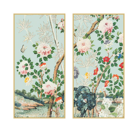 Chinoiserie Framed Art Panels 4.2