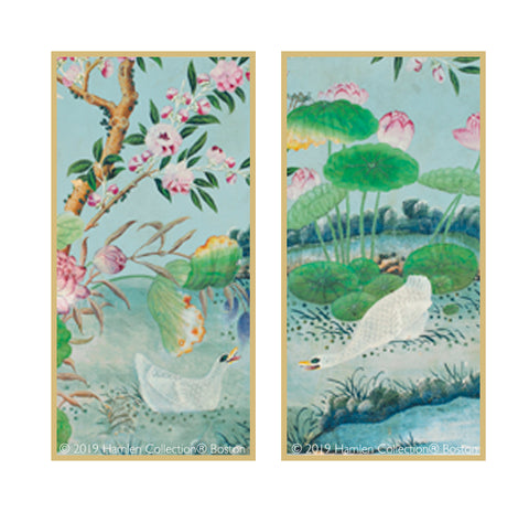 Chinoiserie Framed Art Panels 6.1