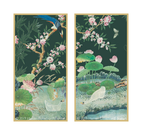 Chinoiserie Framed Art Panels 7.1