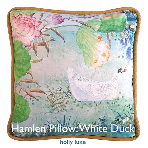 Chinoiserie White Duck