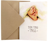 New Baby Card | Tiny Toes