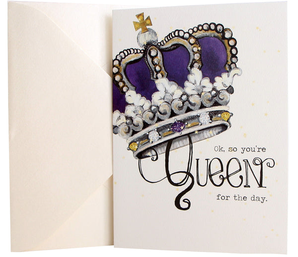 Birthday Card | Queen Crown