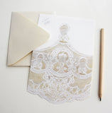 French Lace Fold Note | Set of 10