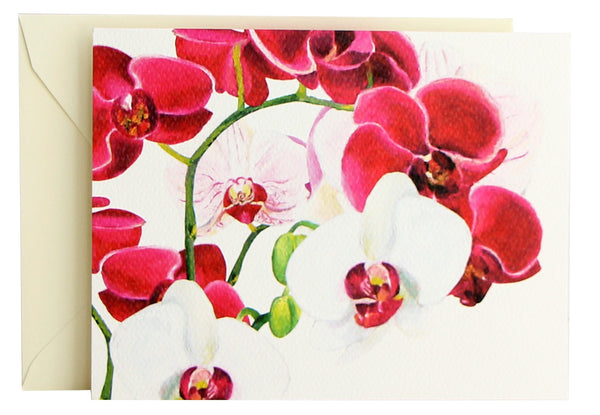 Orchid Fold Note | Set of 10