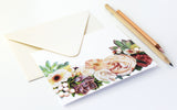 Crown of Flowers Fold Note | Set of 10