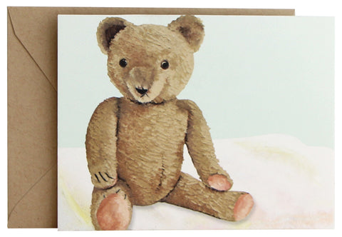Vintage Teddy Fold Note | Set of 10